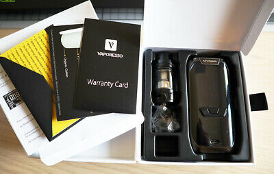Used Vaporesso REVENGER KIT 220W, 5ml tank with box + 2 x GT8 core, 1 x GT2 core