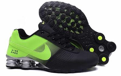timeless design bcc1c 3d6bc Men s Nike Shox Deliver Black and Lime