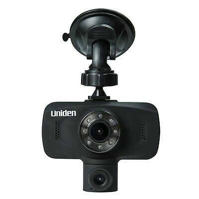 """Brand New Uniden iWitness DC115 Dual Dash Camera Video Recorder 1080p 30fps 2.7"""""""