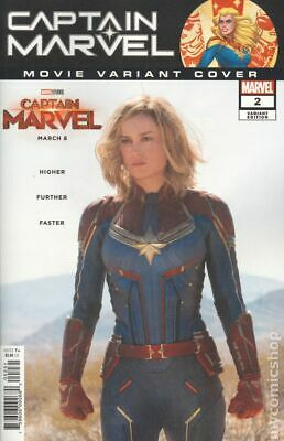 Captain Marvel (11th Series) #2D 2019 Movie Variant NM Stock Image