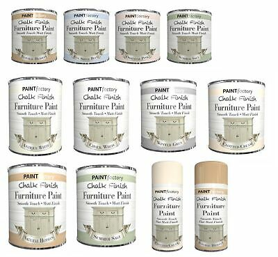 Shabby Chic *Chalk Based* Paint Chalky Matt Finish Water-Based Paint 250 400 650