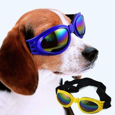 Protection Small Doggles Dog Sunglasses Pet Goggles UV Sun Glasses Eye Wear Fast