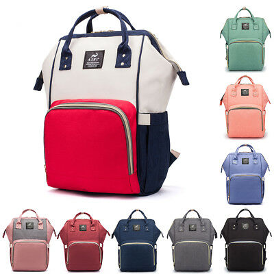 Mummy Maternity Nappy Diaper Bag Large Changing Baby Travel Backpack Handbag