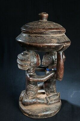 Luba, Devination Bowl, D.R. Congo, Central African Tribal Arts