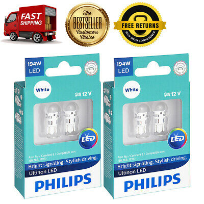 Philips 4X White Ultinon LED Turn Signal Light Bulb For 1963-1992 Buick Riviera