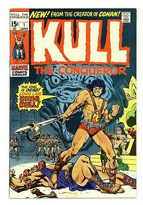 Kull the Conqueror (1st Series) #1 1971 VG 4.0