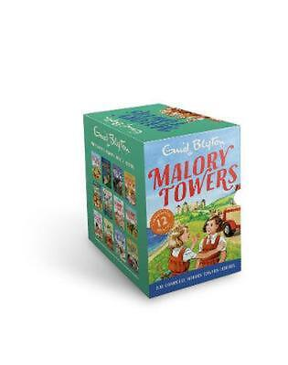 Malory Towers 12 book set by Enid Blyton Free Shipping!