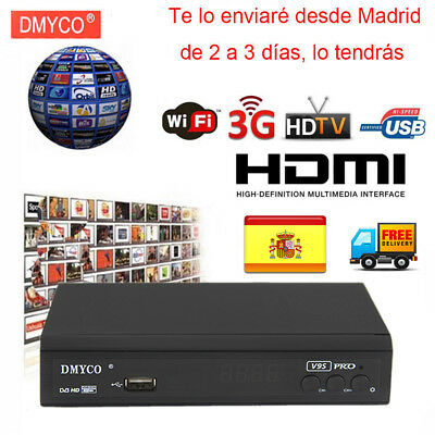 V9 Pro Tv Tuner Wifi Satellite Receiver DVB S2 Digtal Full HD 1080P Support Biss