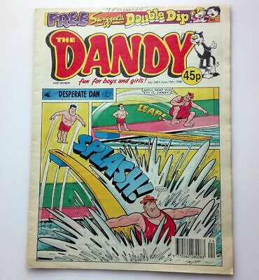 The Dandy 13 June 1998 Collectable Childrens Kids Humour Comic Number # 2951
