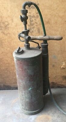 Decorative Vintage Antique Brass / Copper Spray Pump