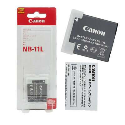 Genuine Original Canon NB-11L Battery For NB-11LH CB-2LFE A2300 A4000 A3400