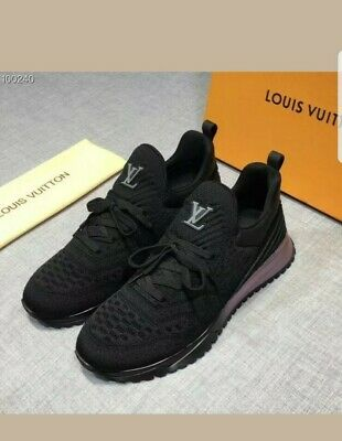 2be8192fbeb CHAUSSURES LOUIS VUITTON v.n.r VNR baskets Sneakers Black size pointure 42