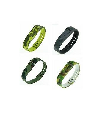 Hellfire Replacement Wristband Bracelet Band Strap for Fitbit Flex Camouflage