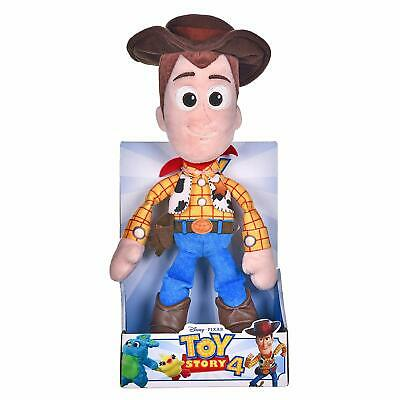 """Official Brand New 10"""" Boxed Toy Story 4 Woody Soft Plush Toy"""