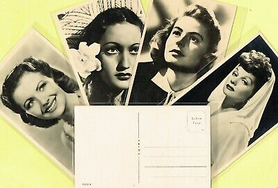 M.P.E.A. [HOLLAND] ☆ 1930s Film Star Postcards ☆ issued in the Netherlands