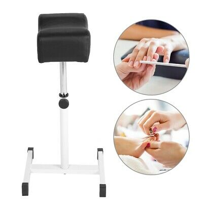 Adjustable Nail Pedicure Manicure Footrest Stand Salon Spa Equipment Stool NEW