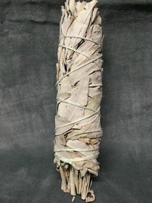 California White Sage Smudge Bundle or Smudge Stick – Medium