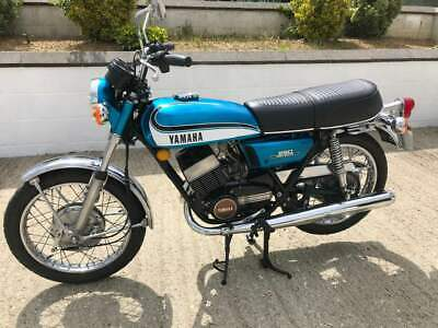 Yamaha RD250 A 1973 Matching Engine & Frame Numbers in Stunning Condition