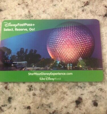 (3)- 1 Day Walt Disney World Park Hopper Ticket Fast Pass - Expires April 2021