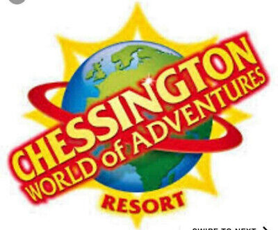 Chessington World Of Adventures Tickets X 2  For 4Th September 2019