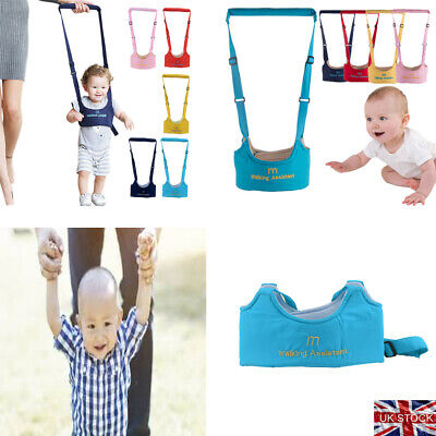 Safety Harness Baby Kid Toddler Learning Assistant Moon Walking Walker Reins BIG