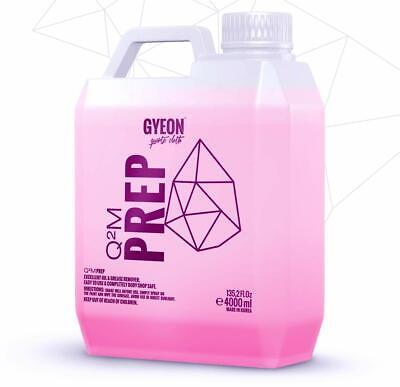 Gyeon Q2M Prep 4000ml, Strong, safe and effective pre-coating degreaser 4 Litre