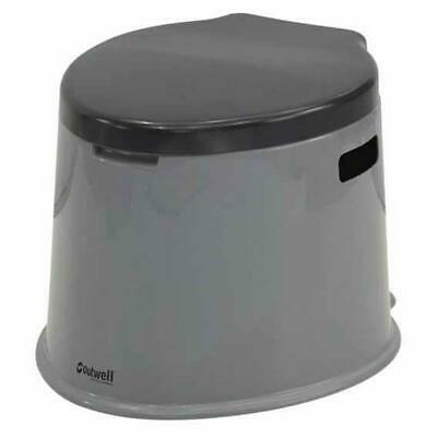 Outwell Portable Toilet 7l Gris T15151/ Equipamiento camping Unisex Gris Outwell