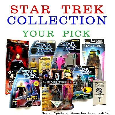 Large Collection of Star Trek Action Figures/Toys - CHOOSE Which Ones You Want!