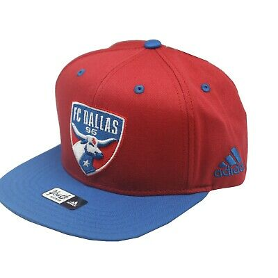 quite nice c89c4 bf849 FC Dallas Official MLS Adidas Kids Youth Boys 8-20 Flat Brim Snap Back Hat