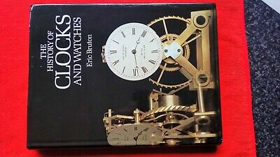 The history of clocks hardback by eric bruton