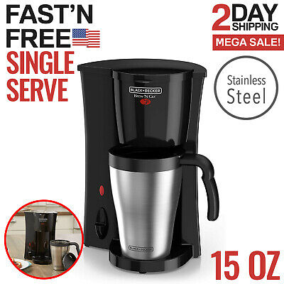 Single Serve Coffee Maker Single Cup One Cup Coffee Maker Small Personal Brew