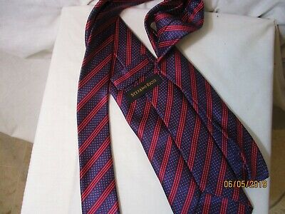 f8c9b721a113 Beautiful New Multi-Colored Striped STEFANO RICCI of Italy Silk Neck Tie -NWOT