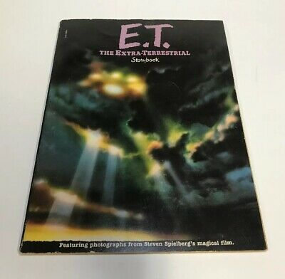 E.T. The Extra-Terrestrial Storybook Spielberg Movie (1982) ET Scholastic Books