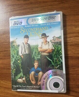 Secondhand Lions Mini Dvd Disc Family Movie NEW RARE