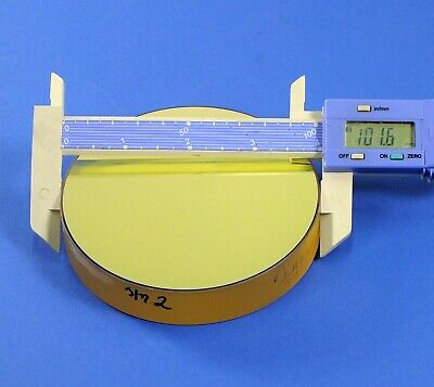 "4"" Dia. Zerodur Optical Flat Mirror BBHR visibl (AVLIS optics, 532nm laser, HeNe"