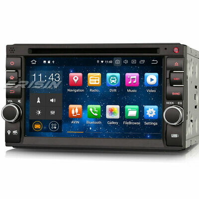 Android 9.0 Double Din Car Stereo Touchscreen GPS DAB+ OBD2 BT WiFi DVB-T2 TPMS