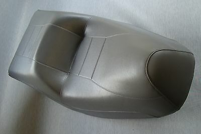 Motorcycle seat cover - Honda CN250 Helix in grey