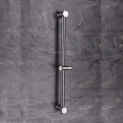 SUS304 stainless steel metal shower sliding bar with Height adjustable for bath