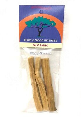 """Palo Santo"" 3 Wood Pieces Incense Wood 30gm Moondance Brand Sacred Smudge"