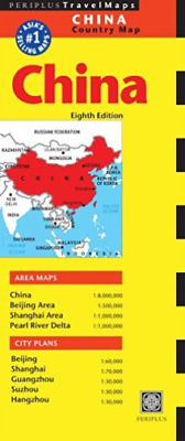 Periplus Editor-China Travel Map Eighth Edition (Uk Import) Book New