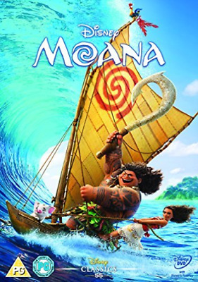 Moana Dvd Retail (UK IMPORT) DVD [REGION 2] NEW