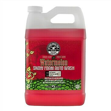 Chemical Guys Watermelon Snow Foam Auto Wash Cleanser 1 (US) Gallon