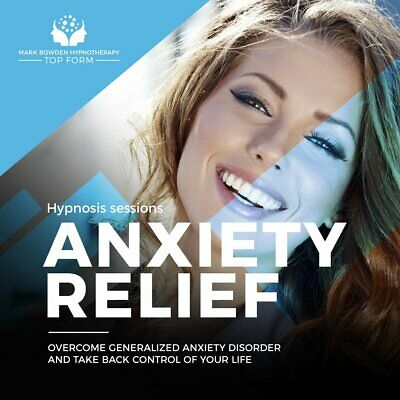 Anxiety Relief - Self Hypnosis CD / MP3 and APP
