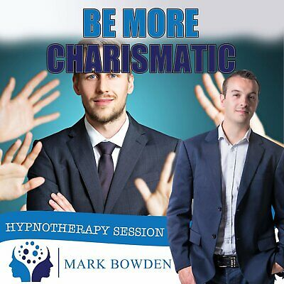 Be More Charismatic - Self Hypnosis CD / MP3 and APP