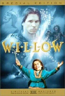 Willow (DVD, 2003, Special Edition) LN Rare OOP Out of Print & Hard to Find HTF