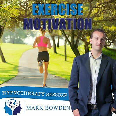 Exercise Motivation - Self Hypnosis CD / MP3 and APP (3 in 1 Purchase!)
