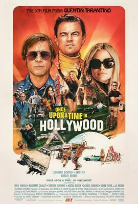 2019 Once Upon a Time in Hollywood poster silk Art new movie