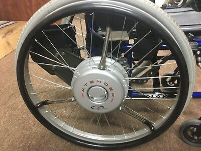 QUICKIE XTENDER YAMAHA Power Wheel Complete Setup, Battery And Charger 3X  Power