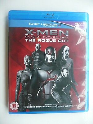 X-Men: Days Of Future Past: The Rogue Cut - Extended (Blu-ray, 2015, 2-disc set)
