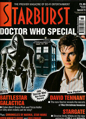 STARBURST SPECIAL Magazine Issue 73 - Doctor Who Special (2005)